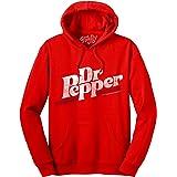 Tee Luv Dr Pepper Hoodie - Cherry Red Hooded Dr. Pepper Sweatshirt