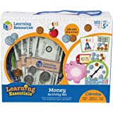 Learning Resources LER3219 Money Activity Set,Multi-color