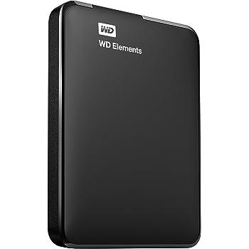 WD HDD ポータブル ハードディスク 2TB USB3.0 TV録画対応 Elements Portable WDBU6Y0020BBK-JESN / 3年保証