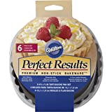 (12cm ) - Perfect Results Tart/Quiche Pans 6/Pkg