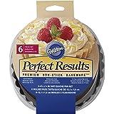 (12cm ) - Perfect Results Tart/Quiche Pans 6/Pkg