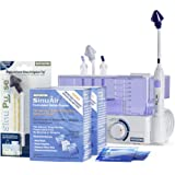 SinuPulse Elite Advanced Nasal Sinus Irrigation System with 60 Additional SinuAir Packets, Additional Replacement Sinus Irrig