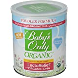 Baby's Only Toddler Formula, Lactose Relief, Organic, 12.7-Ounce Can
