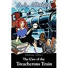 The Case of the Treacherous Train (A Katy Kramer Cozy Mystery No. 5) (Katy Kramer Cozy Mysteries)