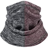 Bomeen Thermal Scarf Neck Gaiter Warmer - Windproof Warmer Face Mask for Cold Weather & Neck Warmer Gaiter for Skiing, Runnin