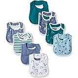 Hanes Ultimate Baby Baby Boys Flexy 8 Pack Bibs