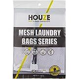HOUZE Mesh Laundry Bag, White, Dim: 30x40cm