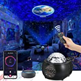 [2021 Upgraded] Planet Projector Lights, Galaxy Projector for LivingRoom Ceiling, Bluetooth Music Player Ambiance Decor Light