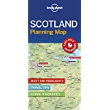 Lonely Planet Scotland Planning Map