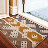 "Doormat, Indoor Outdoor Waterproof, Non Slip Washable Quickly Absorb Moisture and Resist Dirt Rugs(24""x36"")"