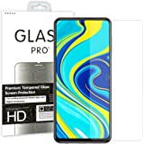 [2 Pack] MEZON Crystal Clear Premium 9H HD Tempered Glass Screen Protectors for Xiaomi Redmi Note 9 Pro/Note 9S – Case Friend