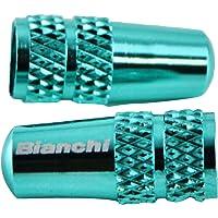 Bianchi(ビアンキ) バルブキャップ Alloy チェレステ JPPVCUEC チェレステ