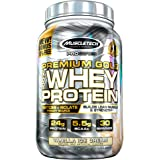 Whey Protein Powder | MuscleTech Premium Gold 100% Whey Protein Powder | Whey Protein Isolate & Peptides | Whey Isolate Prote