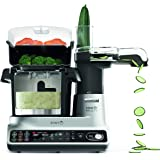 KENWOOD Multi Smart Thermo Cooker, Multi Cooker - Cooking Food Processor -Smart Cooking Made Simple, CCL450SI, Silver, Silver