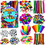 GoodyKing Arts and Crafts Supplies for Kids - Craft Art Supply Kit for Toddlers Age 4 5 6 7 8 9 - All in One D.I.Y. Crafting