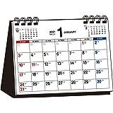 2021年 シンプル卓上カレンダー A6ヨコ【T3】 ([カレンダー])