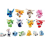 """Super Wings US710640 - Transform-a-Bots World Airport Crew 