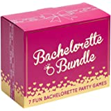 Bachelorette Bundle - 7 Fun Bachelorette Party Games (Bubbly Pong, Quiz The Groom, Bach Charades, I Have Never, Who Knows The