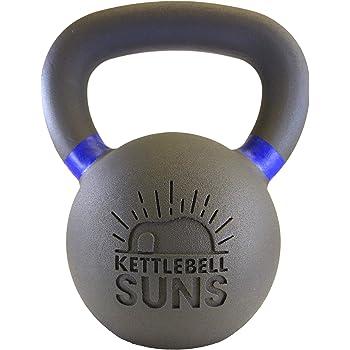 ケトルべル・サンズ(Kettlebell Suns) 4,6,8,10,12,14,16,20,24,28,32kg[滑らかで手のひらに優しくなじむフィット感]