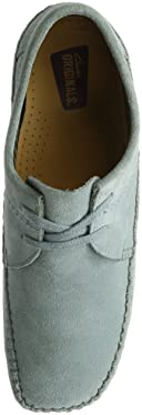 Weaver: Blue Grey Suede