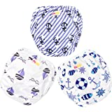 Pedobi Reusable Baby Swim Diapers, Adjustable Diaper Swim for Toddlers 9 Months - 3 Years Old, 3 Pack for Swimming Lessons (