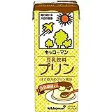 キッコーマン 豆乳飲料 プリン 200ml ×18本
