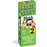 Brain Quest 2nd Grade Math Q&A Cards: 1000 Questions and Answers to Challenge the Mind. Curriculum-based! Teacher-approved!
