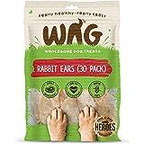 Rabbit Ears 30 Pack, Grain Free Hypoallergenic Natural Dog Treat Chew