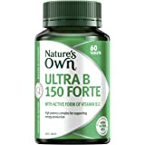 Nature's Own Ultra B 150 Forte - Supports Energy Levels - Relieves Tiredness - Supports Nervous System Function, 60 Tablets