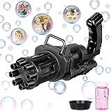 JOYIN Gatling Bubble Machine, Bubble Gun, Electric Bubble Blower Toy for Kids, 8-Hole Automatic Bubble Maker Machine, as 2021