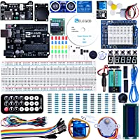 ELEGOO Arduino用UNO R3スターターキット レベルアップ チュートリアル付 mega2560 r3 na…