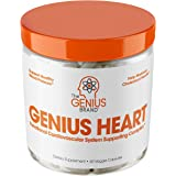The Genius Brand Genius Heart & Cardiovascular Veggie Capsules, 60 count