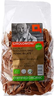 Girolomoni Organic Whole Meal Spelt Penne Pasta, 500g