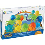 Learning Resources LER1768 Counting Dino-Sorters Math Activity Set Preschool Games