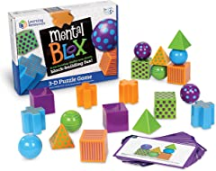 Learning Resources LER9280 Mental Blox Critical Thinking Game,One Size,Multi