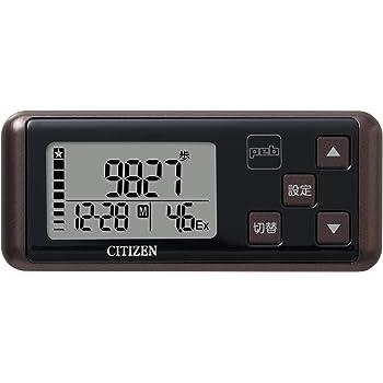 シチズン(CITIZEN) デジタル歩数計 peb ブラウン TW700-BR