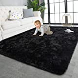TWINNIS Super Soft Shaggy Rugs Fluffy Carpets, 4x5.9 Feet, Indoor Modern Plush Area Rugs for Living Room Bedroom Kids Room Nu