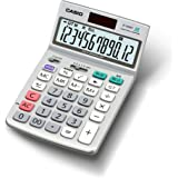 カシオ グリーン購入法適合電卓 12桁 ジャストタイプ JF-120GT-N