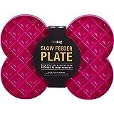 Slodog Slow Feeder No Gulp Dog Bowl, Pink, Pink (48006)