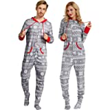 Zexxxy Women's Long Sleeve Pajamas Set with Pants Cotton Loungewear ZE0107
