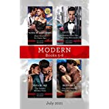 Modern Box Set 5-8 July 2021/Nine Months to Claim Her/Invitation from the Venetian Billionaire/The Greek's Hidden Vows/One Wi