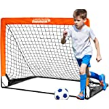 BAYINBULAK Soccer Goal Pop Up Soccer Net for Kids Backyard, 1 Pack