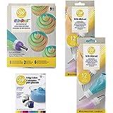 Wilton Color Swirl Three-Color Coupler Cupcake Decorating Kit, 23-Piece