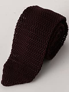Silk Knit Tie 3134-343-2387: Purple