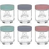Kilner Kids Jar 6-Pieces Set, 190 ml Capacity, Multicolour (0025.017)