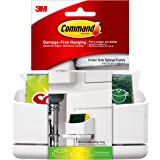 Command 17609-HWES Sink Caddy, Holder, 4-Medium Strips + 1 Scotch-Brite Sponge Included