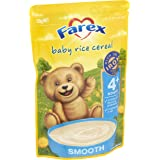 Farex Rice Cereal Pouch, 125g
