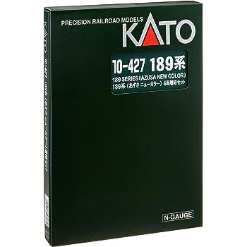 KATO Nゲージ 189系 あずさニューカラー 増結 4両セット 10-427 鉄道模型 電車