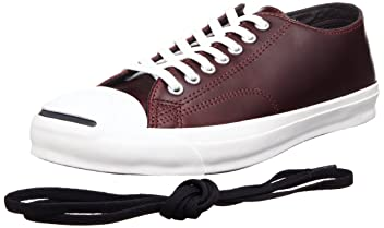 Jack Purcell Chromexcel Leather: Burgundy