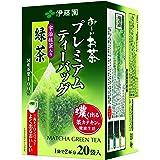 伊藤園 おーいお茶 プレミアムティーバッグ 宇治抹茶入り緑茶 1.8g ×20袋